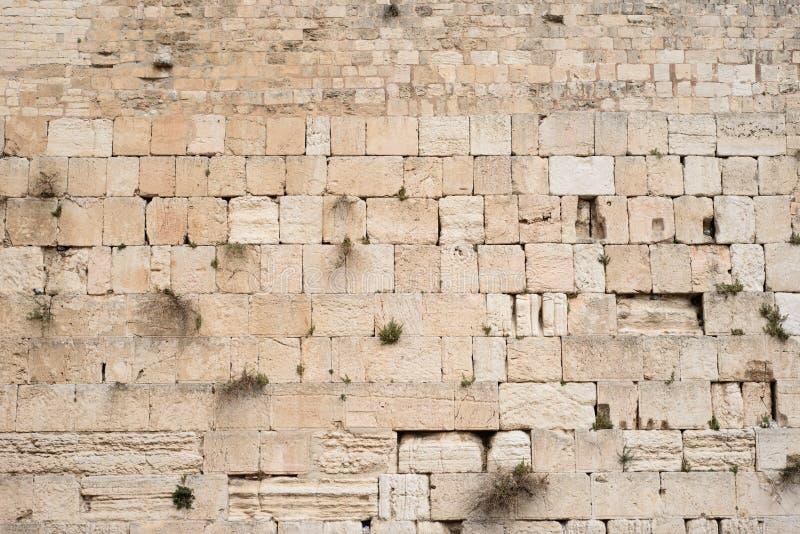 Mur pleurant Kotel, mur occidental utile pour le fond l'Israël Jérusalem images stock