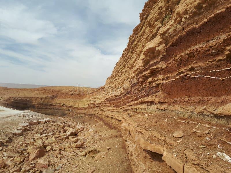 Mur profond de désert images stock