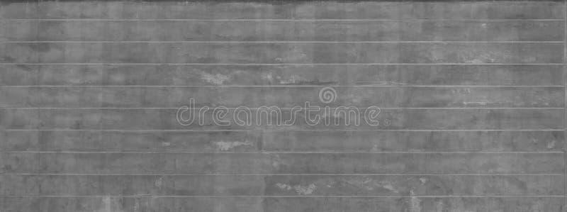 Mur rayé de ciment concret gris rugueux ou parqueter la texture de surface de modèle Plan rapproché de matériel extérieur pour la image libre de droits