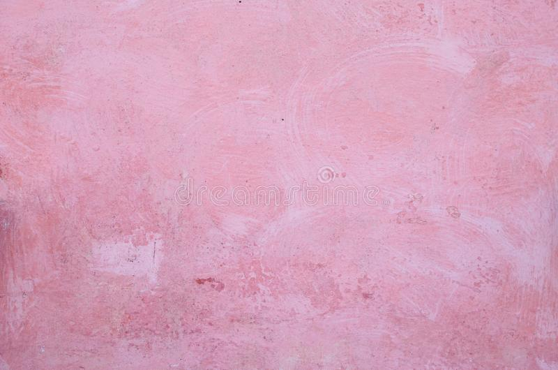 Mur rose de pl?tre photos stock