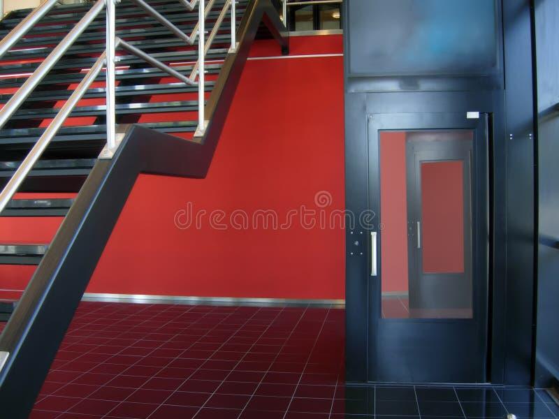 Mur rouge image libre de droits