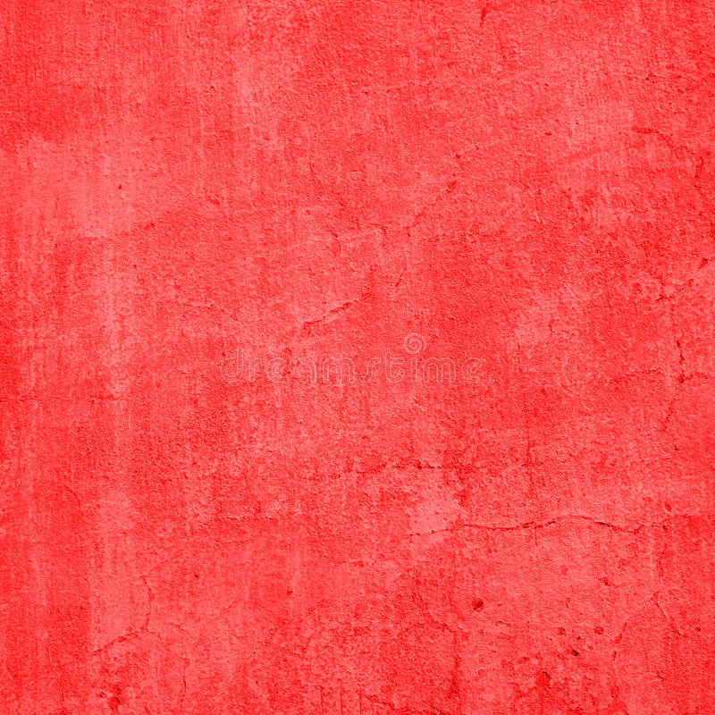 Mur rouge de ciment de vintage photos libres de droits