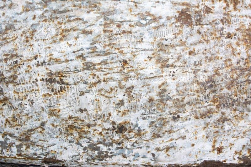 Mur rouillé en métal photos stock