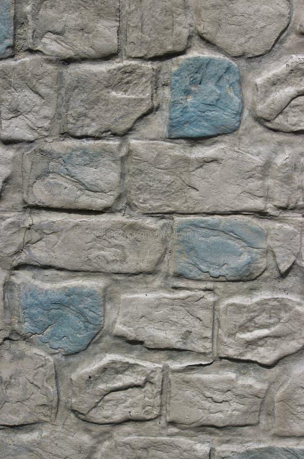 Mur rugueux moderne de texture de brique photos libres de droits