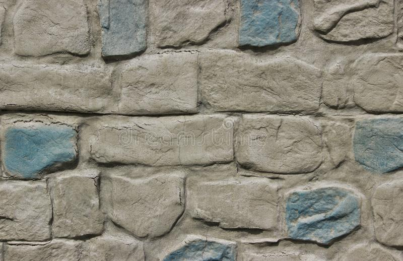 Mur rugueux moderne de texture de brique image stock