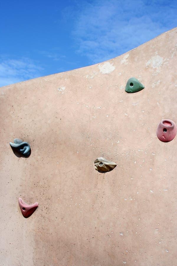 Mur s'élevant image libre de droits