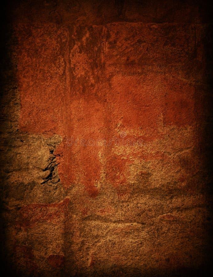 Mur sale de Brown images stock