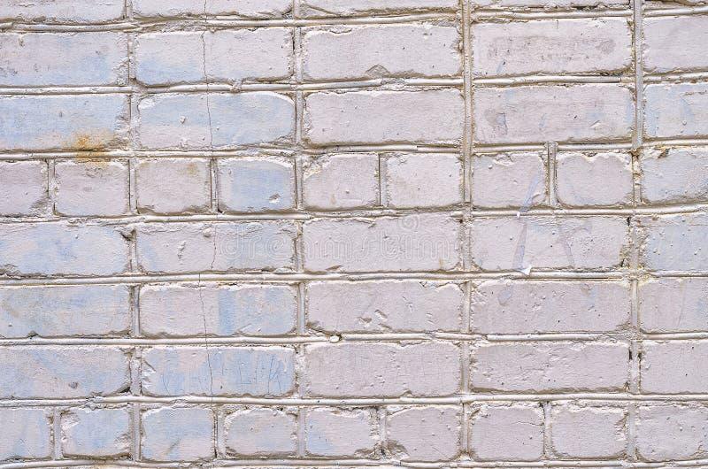 mur tła white Tekstura kamienna ściana Ściana z cegieł farbujący w białym kolorze obraz stock