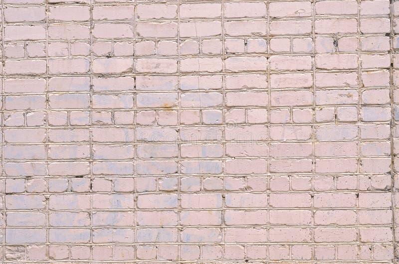 mur tła white Tekstura kamienna ściana Ściana z cegieł farbujący w białym kolorze obrazy royalty free