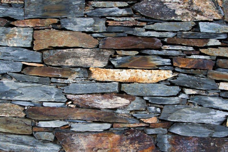 Mur texturisé de panneau de roche de rue photos stock