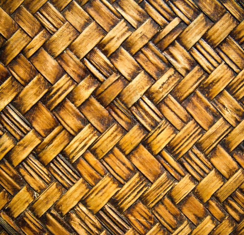 Mur thaïlandais indigène de bambou de style photos libres de droits