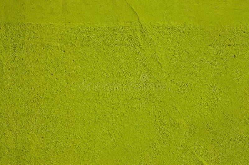 Mur vert de plâtre images stock