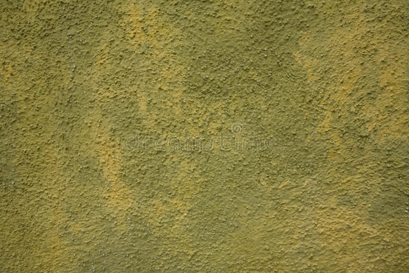 Mur vert et jaune image stock