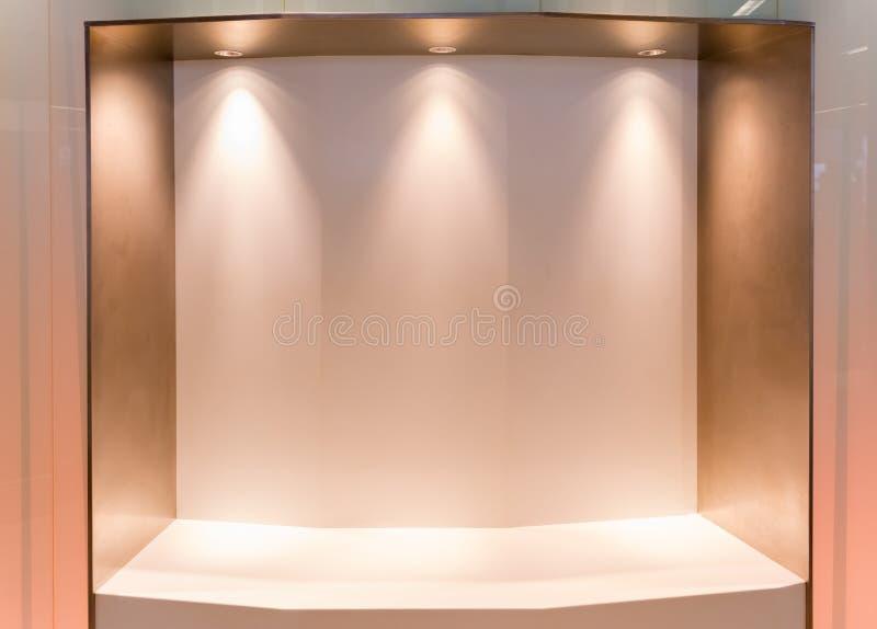 Mur vide image libre de droits