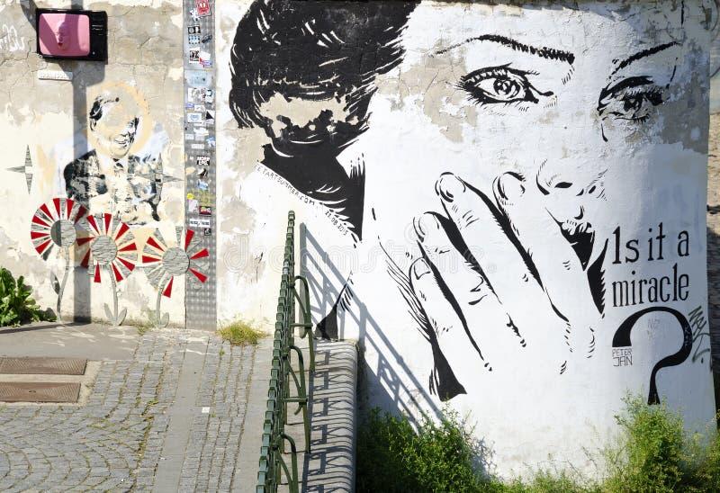 Mural έργα ζωγραφικής στοκ φωτογραφία