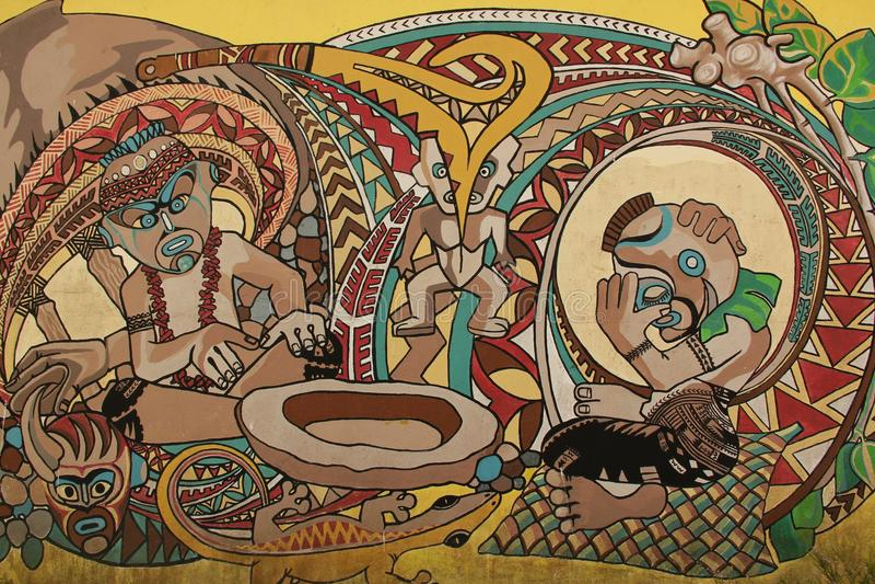 mural стоковая фотография rf
