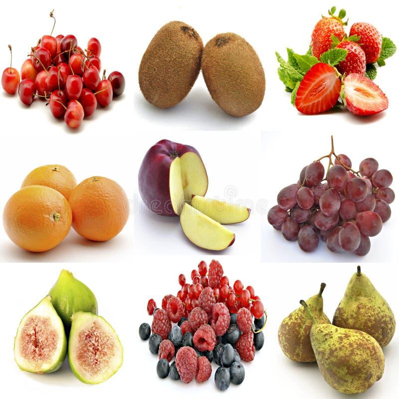 Mural de varias frutas foto de archivo libre de regalías