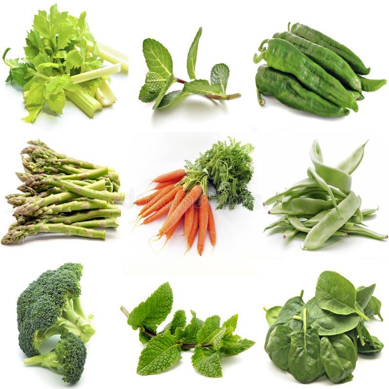Mural de varias verduras foto de archivo libre de regalías