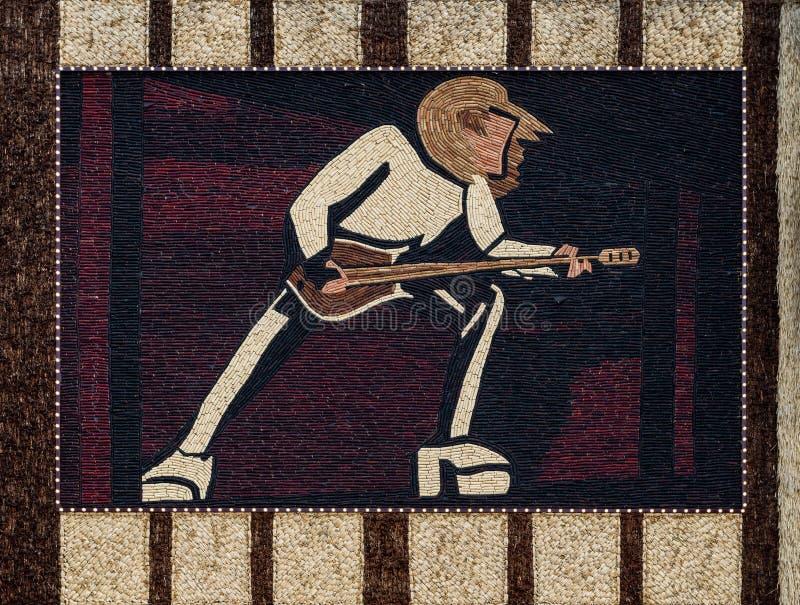 Mural del palacio del maíz imagen de archivo libre de regalías