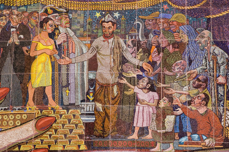 Download Mural by Diego Rivera editorial photo. Image of rivera - 20790406