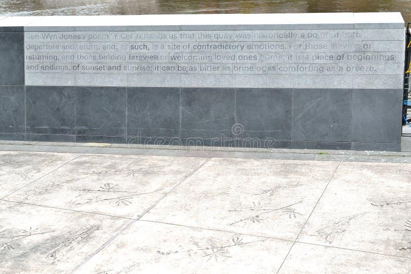 mural firme adentro la bahía de la rebeca fotos de archivo