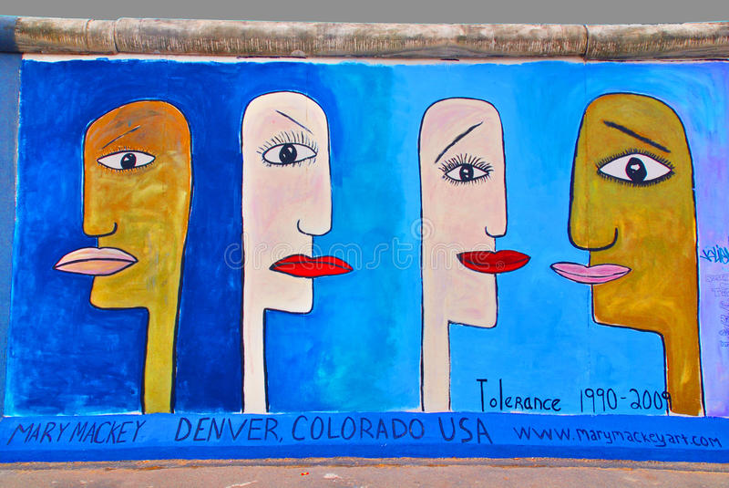 Mural Tolerance stock photos
