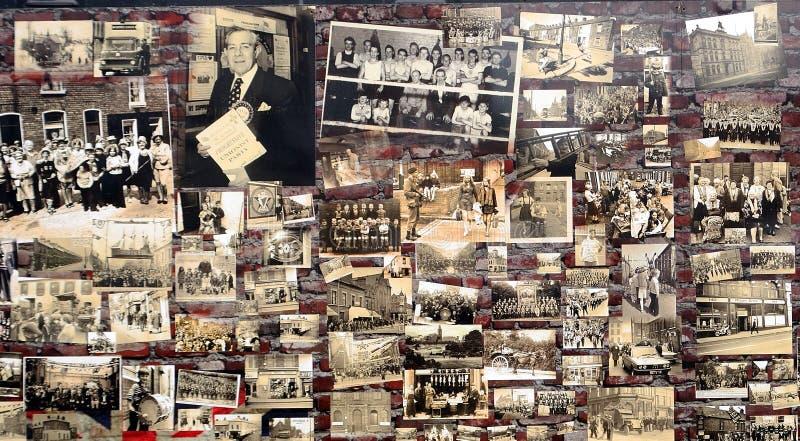 Murale dell'unionista, Belfast, Irlanda del Nord fotografia stock libera da diritti