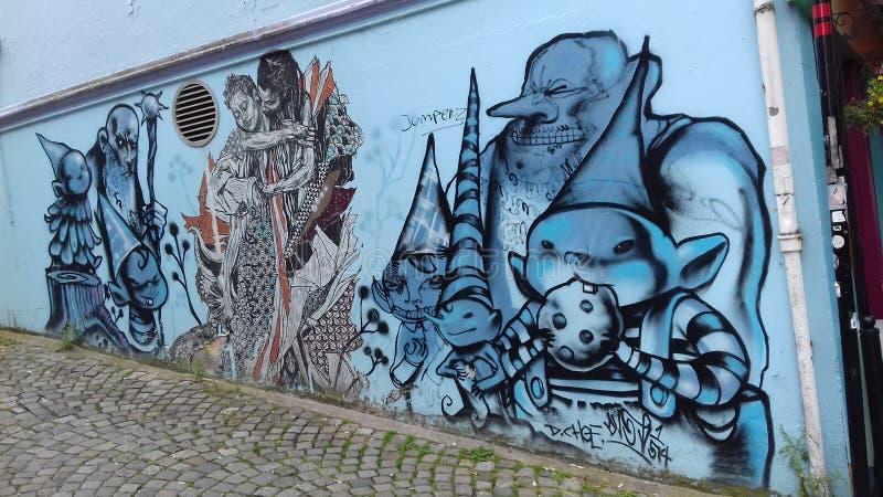 Murales стоковое изображение rf