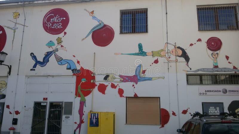 Murales fotografia stock libera da diritti
