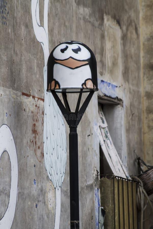 Murales de Catania, Italia imágenes de archivo libres de regalías