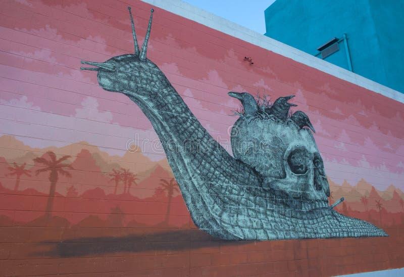 Murales de Las Vegas foto de archivo