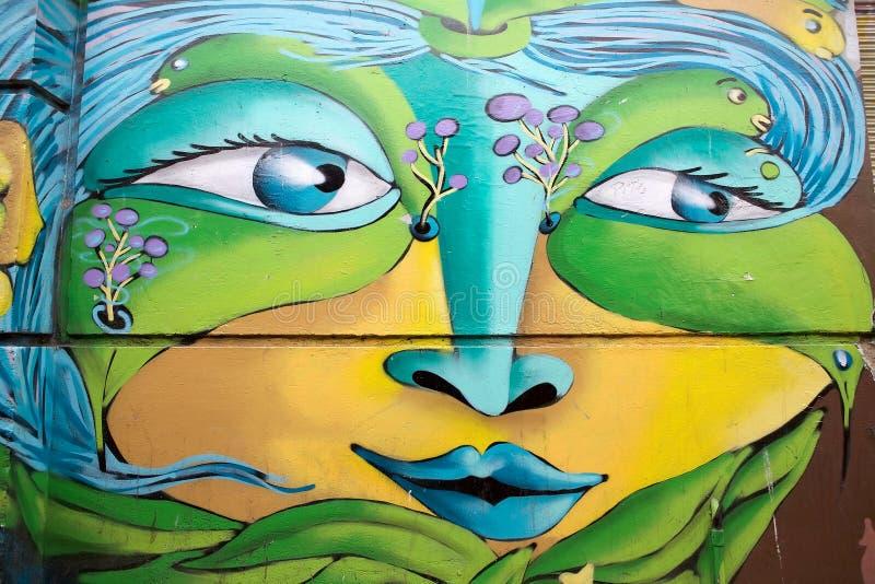 Download Murales In Valparaiso, Chile Redaktionelles Foto - Bild von städtisch, geschichte: 96930661