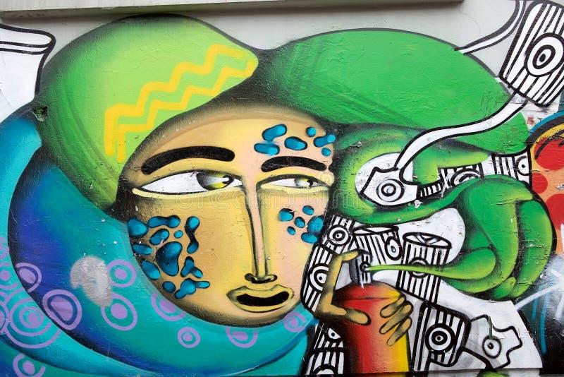 Download Murales In Valparaiso, Chile Redaktionelles Stockfoto - Bild von städtisch, haus: 96930743