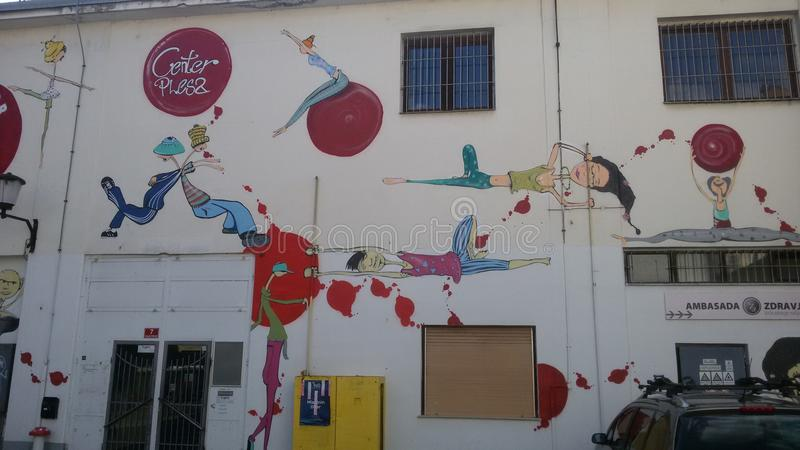 Murales royalty free stock photography