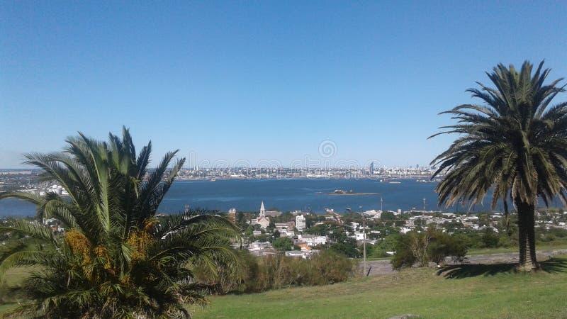 Muralla Ла desde Монтевидео стоковое фото