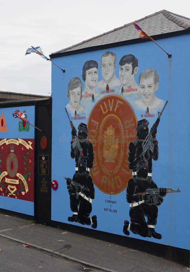 Murals In Belfast Editorial Image