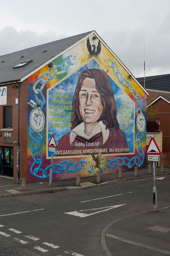 Download Murals in Belfast editorial photography. Image of history - 43840737