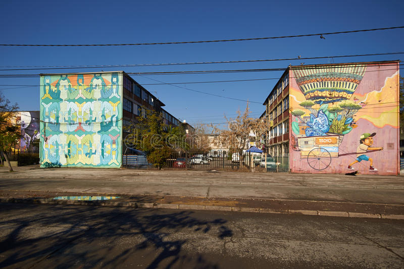 Murals of San Miguel royalty free stock photos