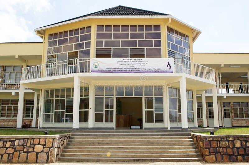 Murambi种族灭绝纪念中心,卢旺达 库存照片
