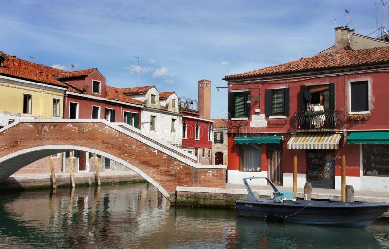 Murano,威尼斯 免版税库存图片