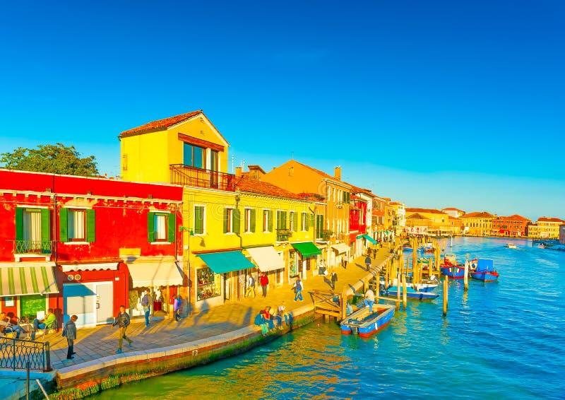 In Murano Italië royalty-vrije stock foto