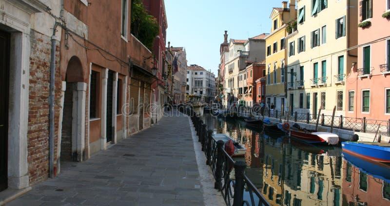 Murano kanal royaltyfri bild