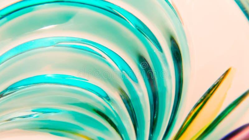 Murano szkła abstrakt obraz stock
