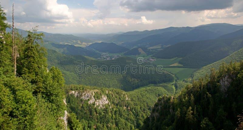 Muranskaplanina, Slowakije royalty-vrije stock fotografie