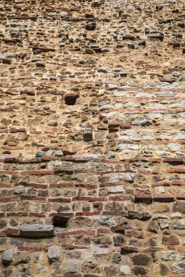 Muratura del castello di Colchester fotografie stock libere da diritti