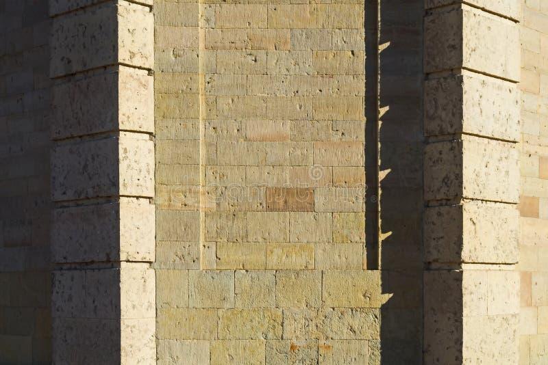 Muratura di grande castello del palazzo- di Gatcina degli imperatori russi fotografia stock