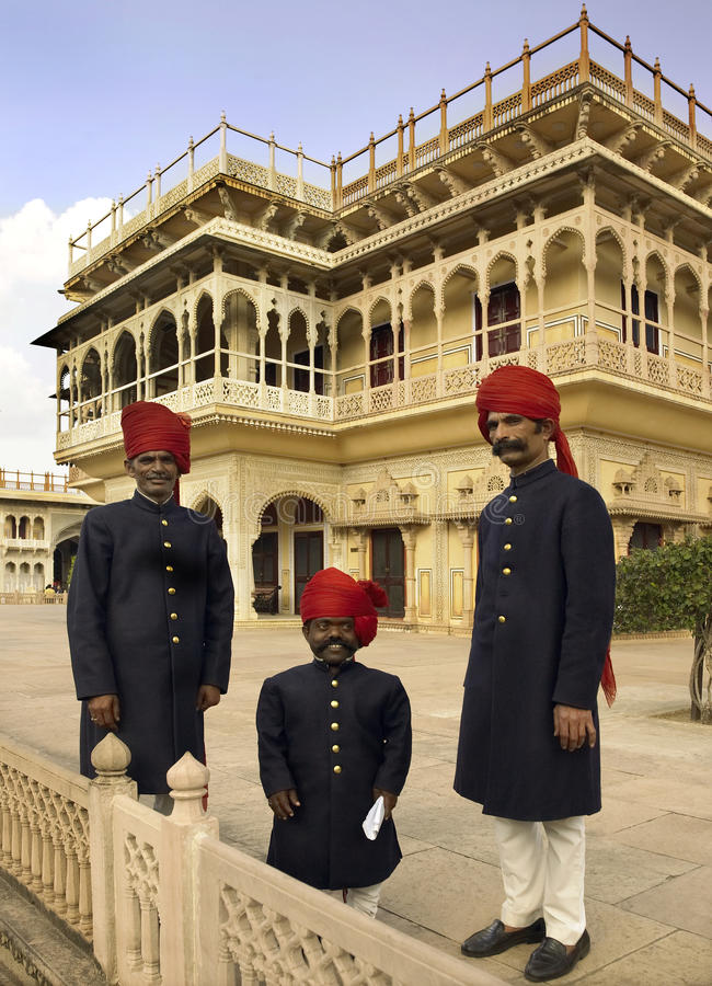 murbarak Индии jaipur mahal стоковое изображение rf