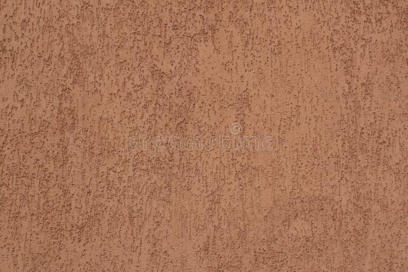 Murbruk av brunt för väggbyggnadsfärg royaltyfri bild