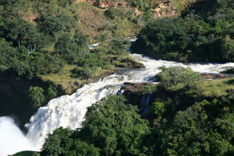Murchison下跌NP,乌干达,非洲 库存图片