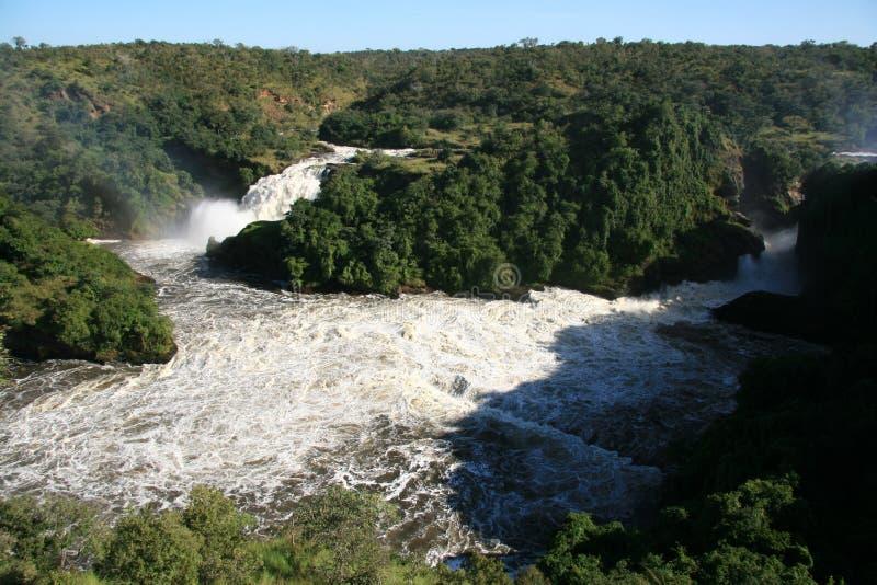 Murchison fällt NP, Uganda, Afrika lizenzfreie stockbilder